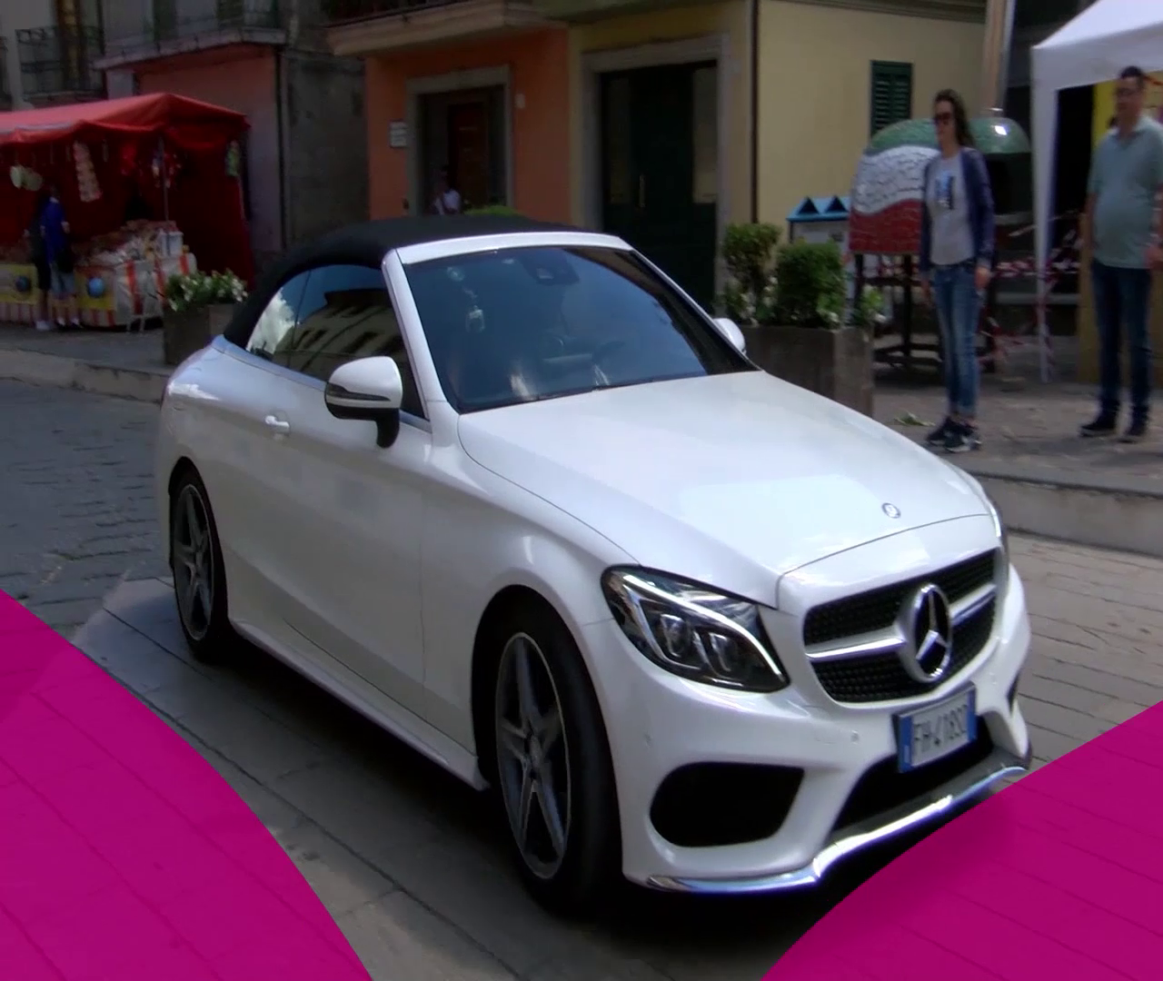DAG AUTO TOUR 2017 IN TV. LE BELLEZZE MERCEDES BENZ IN VETRINA. SI PARTE DA VOLTURARA ALLE 14.40