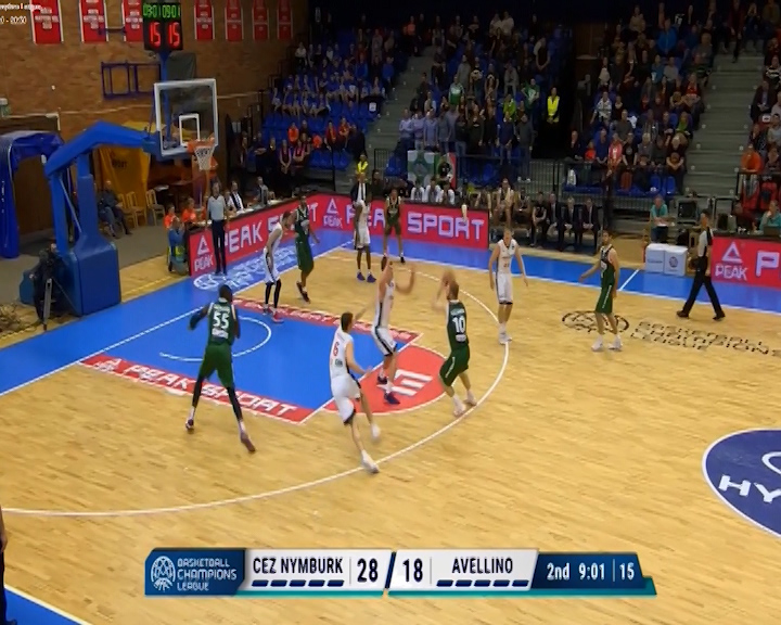 LA SCANDONE PERDE A NYMBURK 81-77 IN CHAMPIONS LEAGUE