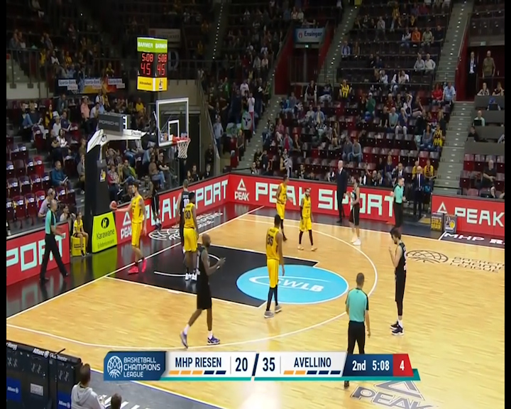 SCANDONE, BIS IN CHAMPIONS LEAGUE: LUDWIGSBURG SCONFITTO 77-96