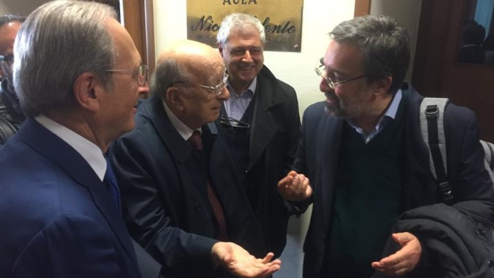 CIRIACO DE MITA ALL'UNIVERSITA':  «TAGLIO PARLAMENTARI E' COME ANDARE IMPREPARATI ALL'ESAME»