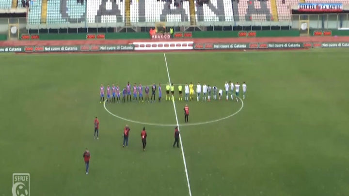 HIGHLIGHTS – CATANIA-AVELLINO 3-1