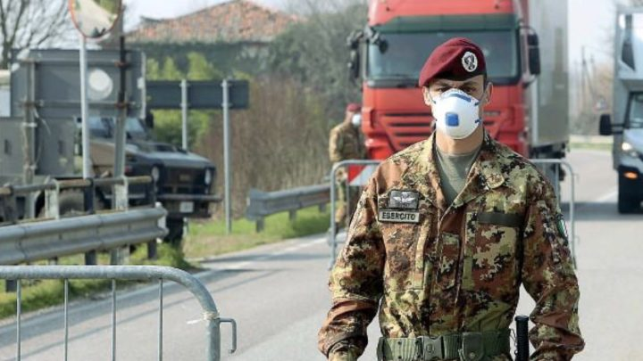 COVID-19, TASK FORCE IN AREA ROSSA VALLO DI DIANO