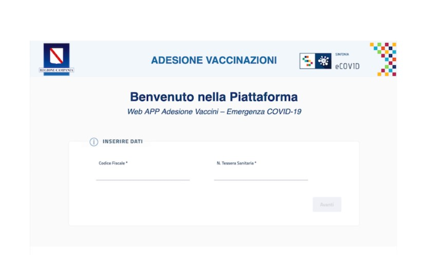 VACCINAZIONE CATEGORIE FRAGILI: ALLE 13.30 REGISTRATE 1000 ADESIONI IN CAMPANIA