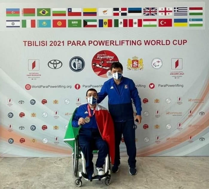 PARA POWERLIFTING: PEPPE COLANTUONI ARGENTO ALLA WORLD CUP DI TBILISI